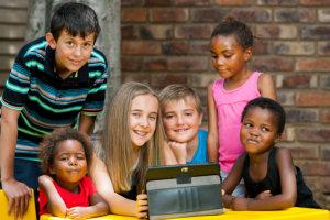 children inside the classroom